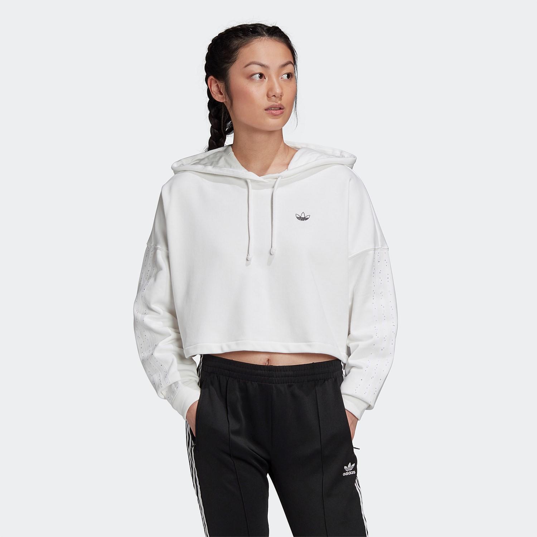 A menudo hablado observación Catástrofe  adidas Originals | Shop adidas Originals Lifestyle Clothing Online |  STIRLINGWOMEN - Cropped Hoodie
