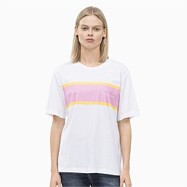 Sock Stripe Boyfriend Tee