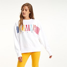 Colourful Block Crew Sweatshirt