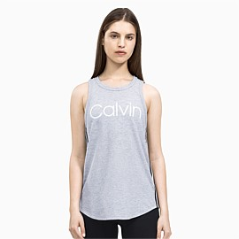 High Neck Logo Tank