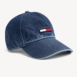 Denim Flag Cap