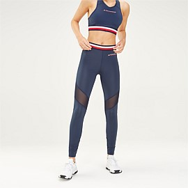 Signature Tape Mesh Leggings
