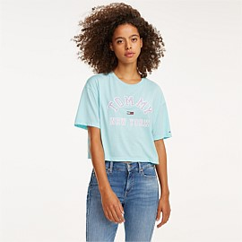 Collegiate Cropped Tee