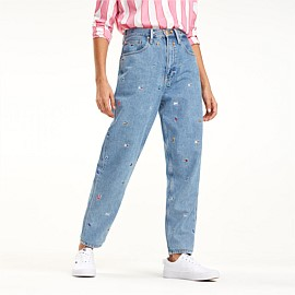 High Rise Tapered Critter Jean