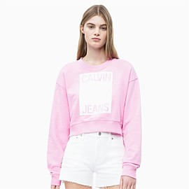 Cropped Logo Sweatshirt