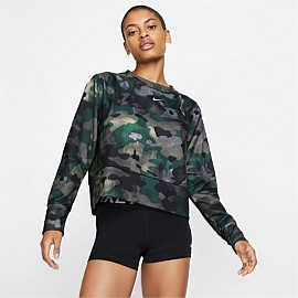 Fleece Camo Training Top