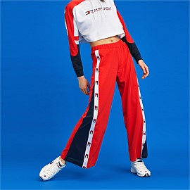 Flag Tape Flare Pants
