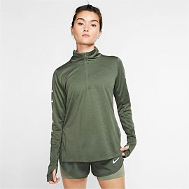 Swoosh Half-Zip Running Top