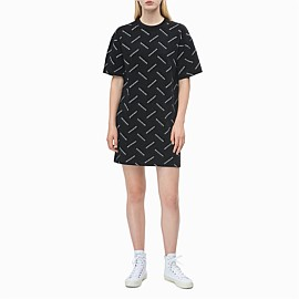 All-Over Logo T-Shirt Dress