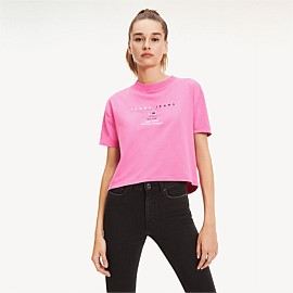 Cropped Small Logo Tee