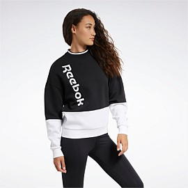 Training Essentials Linear Logo Crew Sweatshirt
