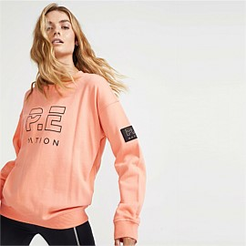 Heads Up Sweat in Desert Flower Coral