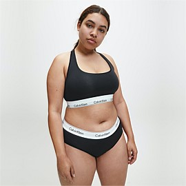 Modern Cotton Plus Size Bralette