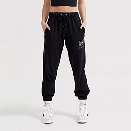 Heads Up Trackpant in Black